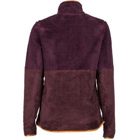Marmot Lariat T-shirt à manches longues Femme, dark purple/burgundy